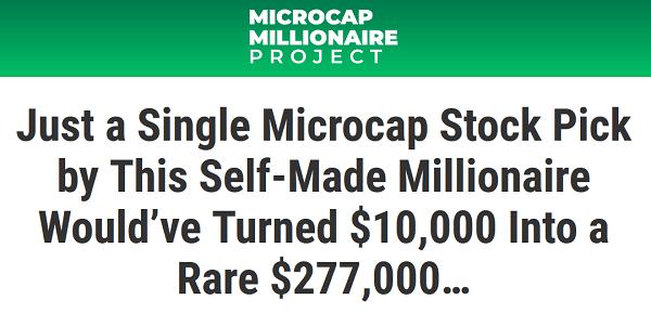Microcap Millionaire Project