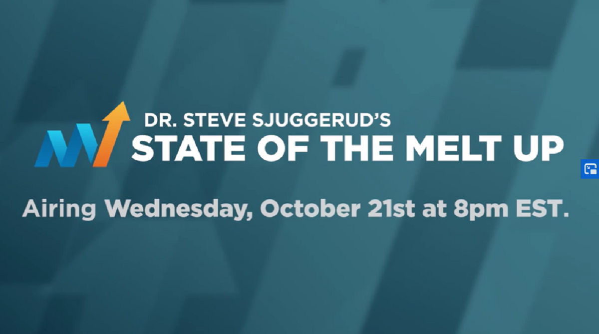 State of the Melt Up Event: Dr. Steve Sjuggerud's #1 Stock To Soar in 2021