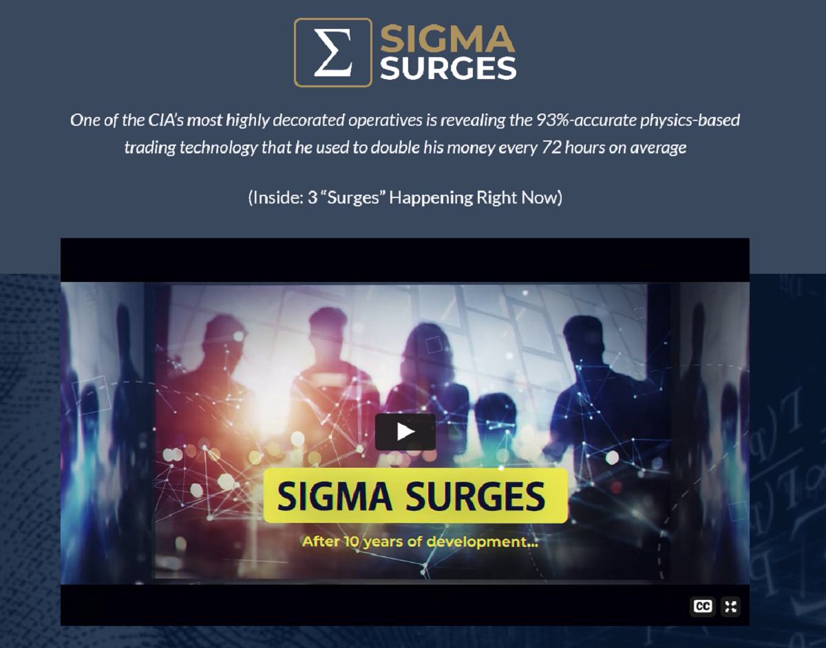 Dr. Kent Moors Sigma Trader: Three New Sigma Surges Live NOW (2021)