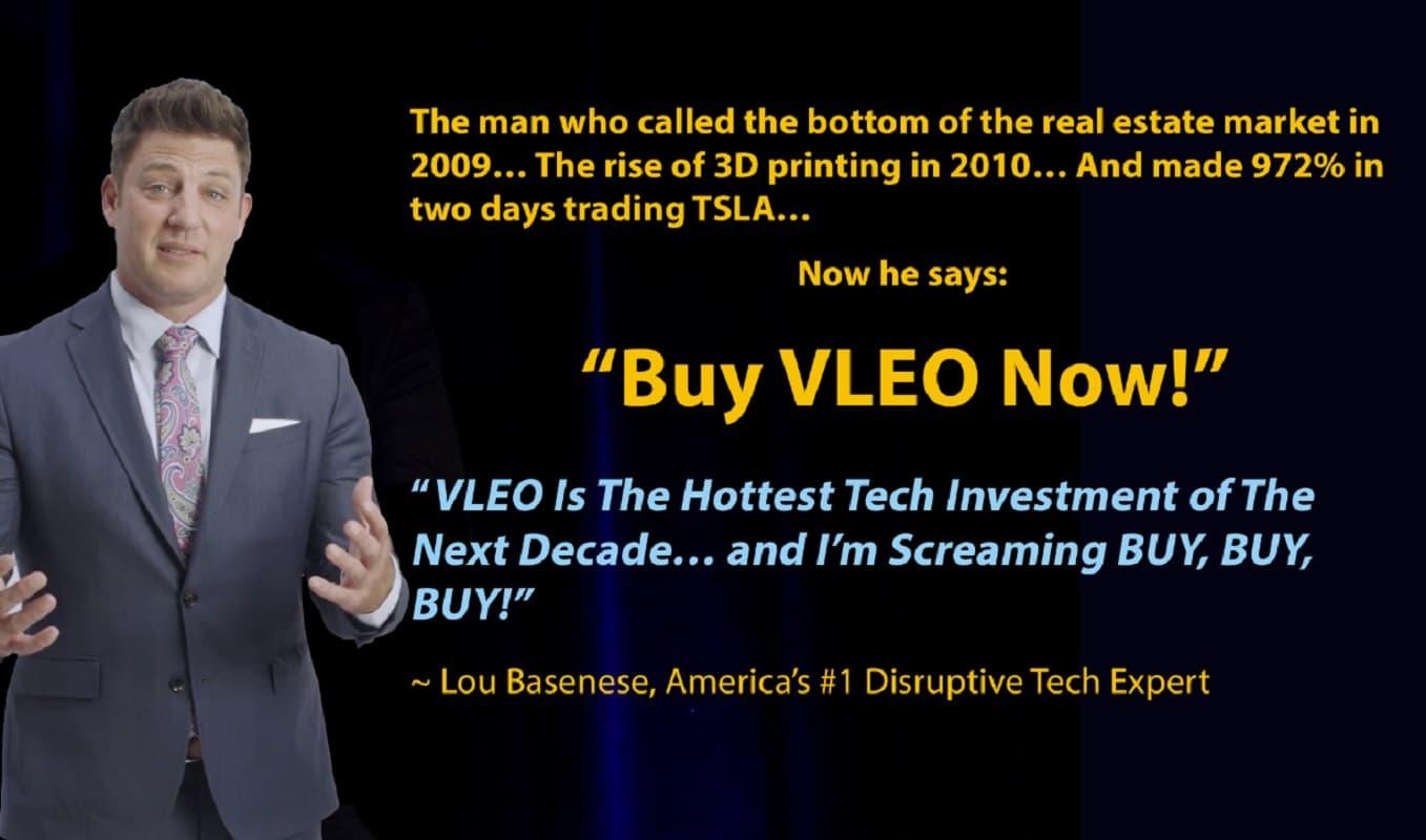 Billionaires betting big on VLEO: Lou Basenese's Digital Fortunes